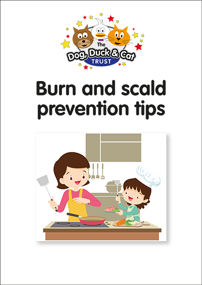 Link to storybook: Burn and Scald Prevention Tips