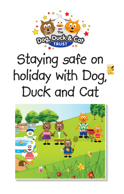 Link to storybook: On holiday with Dog Duck and Cat