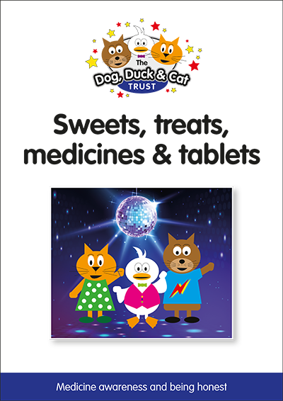 Link to storybook: Sweets, treats, medicines and tablets