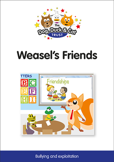 Link to storybook: Weasel's Friends